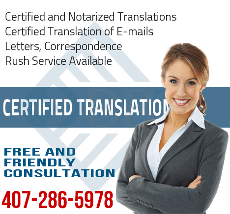 certified translation of e-mails, emails, translation of e-mails, professional translation of e-mails, certified and notarized